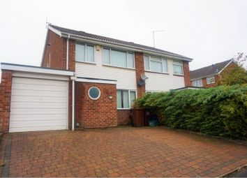 Thumbnail 3 bed semi-detached house for sale in St. Johns Avenue, Kingsthorpe, Northampton