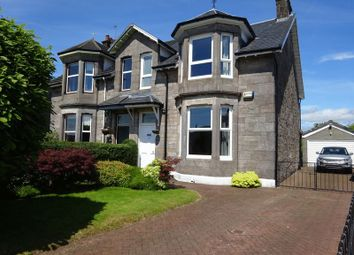 Thumbnail 3 bed semi-detached house for sale in Dumbuck Crescent, Dumbarton