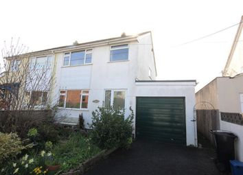 Thumbnail 3 bed semi-detached house for sale in Longford Lane, Kingsteignton, Newton Abbot