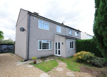 Thumbnail 3 bed semi-detached house for sale in Holbrook Lane, Wick, Bristol