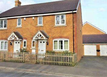 Thumbnail 3 bed semi-detached house for sale in Preston Lane, Lyneham, Chippenham