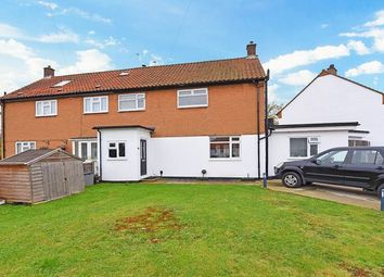 Thumbnail 4 bed semi-detached house for sale in Stormont Way, Chessington