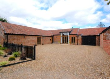Thumbnail 4 bed detached house for sale in Church Road, Bungay