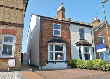 Thumbnail 4 bed semi-detached house for sale in Wendover Road, Staines-Upon-Thames, Surrey