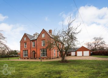 Thumbnail 9 bed detached house for sale in Hawkes Lane, Bracon Ash, Norwich