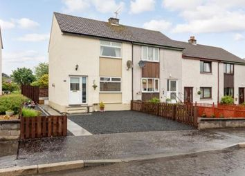 Thumbnail 2 bed terraced house for sale in Ardoch Crescent, Dunblane, Stirlingshire