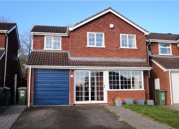 Thumbnail 4 bed detached house for sale in Jersey Close, Redditch