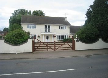 Thumbnail 5 bed detached house for sale in Cosby Road, Broughton Astley, Leicester