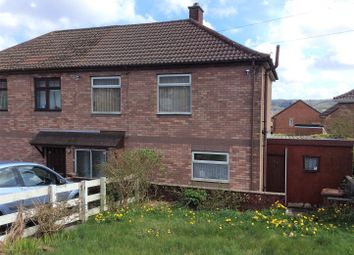 Thumbnail 3 bed semi-detached house for sale in Brynglas, Caerphilly, Glamorgan