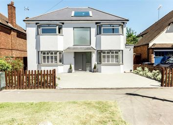 Thumbnail 4 bed detached house to rent in Basingfield Road, Thames Ditton