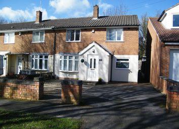 Thumbnail 3 bedroom end terrace house for sale in Chilton Drive, Watnall, Nottingham