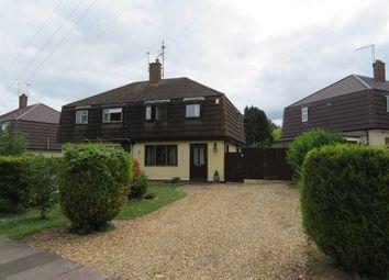 Thumbnail 3 bed semi-detached house for sale in Windrush Road, Hardingstone, Northampton