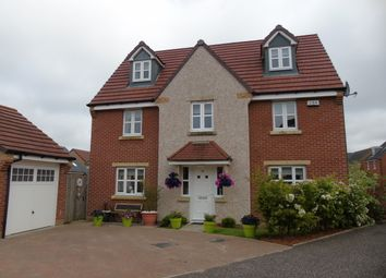 Thumbnail 5 bed detached house for sale in Ewart Drive, Cairnhill, Airdrie, North Lanarkshire