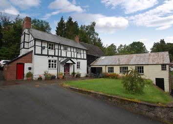 Thumbnail 3 bed detached house for sale in Pontdolgoch, Caersws