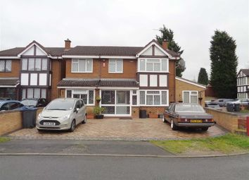 Thumbnail 5 bed detached house for sale in Johnson Close, Ward End, Birmingham