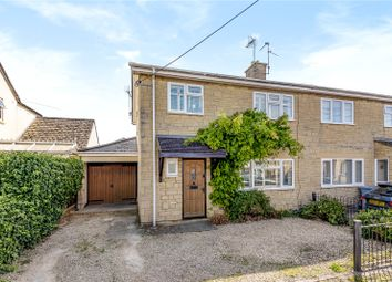 Thumbnail 3 bed semi-detached house for sale in The Crofts, Witney, Oxfordshire