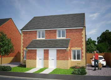 Thumbnail 2 bed semi-detached house for sale in Plot 119, Kerry, Moorside Place, Valley Drive, Carlisle