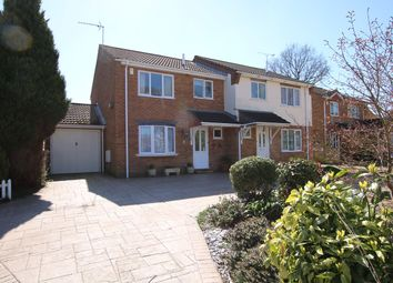 Thumbnail 3 bed semi-detached house for sale in Thomas Lockyer Close, Verwood