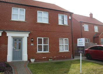 Thumbnail 4 bed semi-detached house to rent in Maple Walk, Laceby