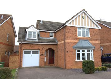 Thumbnail 4 bed detached house for sale in Cleeve Way, Wellingborough