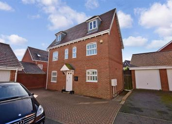 Thumbnail 5 bed detached house for sale in Trunley Way, Hawkinge, Folkestone, Kent