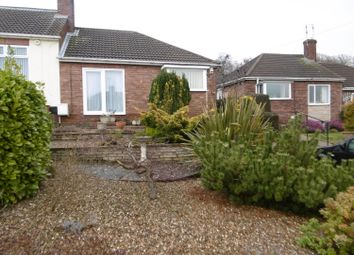 Thumbnail 2 bed semi-detached bungalow for sale in Mayflower Close, Gainsborough