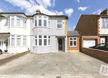 Thumbnail 4 bedroom semi-detached house for sale in Lonsdale Avenue, Romford, Essex