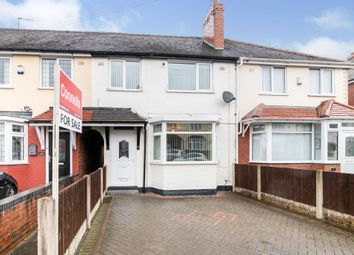 Thumbnail 3 bed terraced house for sale in Griffiths Road, West Bromwich