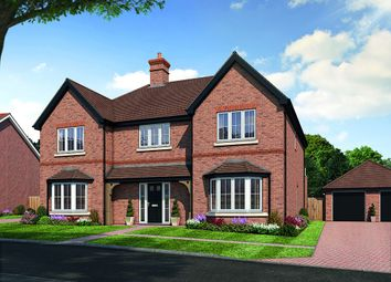 Thumbnail 5 bed detached house for sale in Amlets Place, Amlets Lane, Cranleigh