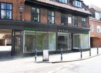 Thumbnail Retail premises to let in Bridge Street, Hitchin