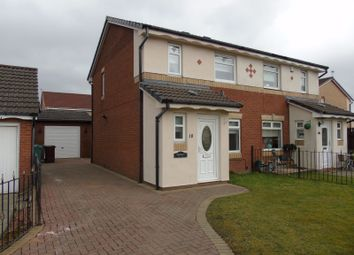 Thumbnail 3 bed semi-detached house for sale in Alder Grove, Victoria Park, Coatbridge