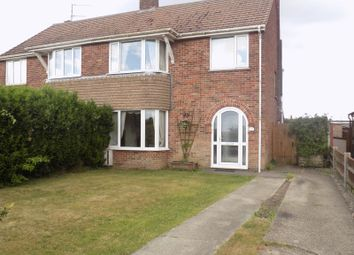 Thumbnail 3 bed semi-detached house for sale in Crab Lane, Bradwell, Great Yarmouth