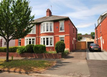 Thumbnail 3 bed semi-detached house to rent in Beatty Avenue, Roath Park, Cardiff