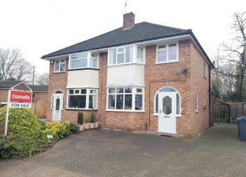 Thumbnail 3 bed semi-detached house for sale in Denise Drive, Harborne, Birmingham