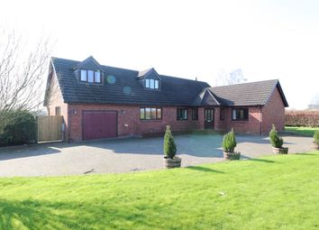 Thumbnail 4 bed detached bungalow for sale in Low Crindledyke, Rockcliffe, Carlisle
