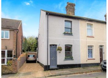 Thumbnail 2 bed end terrace house for sale in Station Road, Gravesend