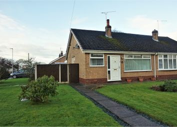 Thumbnail 2 bed bungalow for sale in Shelley Drive, Crewe