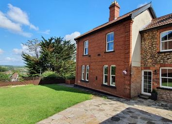 Thumbnail 4 bed semi-detached house for sale in Mount Pleasant, Chepstow, Monmouthshire