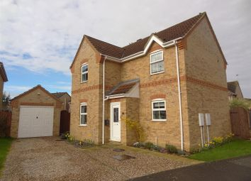 Thumbnail 3 bed detached house for sale in Limetree Close, Sleaford
