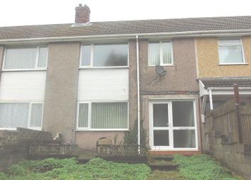 Thumbnail 3 bedroom terraced house for sale in Park Close, Bonymaen, Swansea