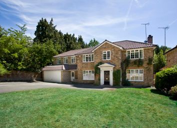 Thumbnail 5 bed detached house to rent in Knowle Hill, Wentworth, Virginia Water