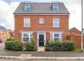Thumbnail 4 bed detached house for sale in Blythe Road, Lightfoot Green, Preston, Lancashire