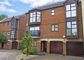 Thumbnail 3 bed town house for sale in Hathaway Court, Rochester, Kent