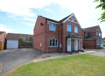 Thumbnail 3 bed semi-detached house to rent in Bramham Park Court, Leeds