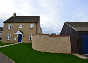 Thumbnail 3 bed semi-detached house to rent in Morley Drive, Ely