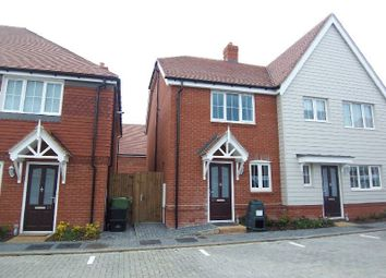 Thumbnail 2 bed semi-detached house to rent in Huxley Close, Cheshunt, Waltham Cross
