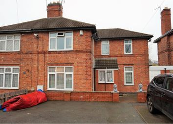 Thumbnail 3 bed semi-detached house for sale in The Littleway, Leicester