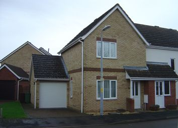 Thumbnail 2 bedroom end terrace house for sale in Blackthorn Close, Chatteris