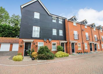 Thumbnail 3 bedroom town house for sale in Nelson Close, Redenhall, Harleston