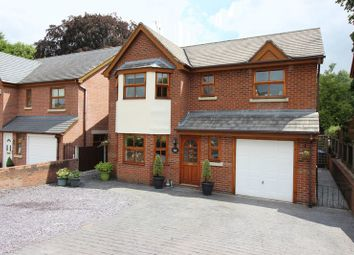Thumbnail 4 bed detached house for sale in Badgers Rise, Leek, Staffordshire